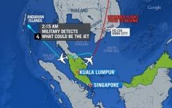 Máy bay mất tích nhiều lần thay đổi độ cao, hướng bay kỳ lạ
