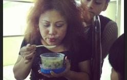 Những bữa ăn dã chiến của sao Việt sau hậu trường