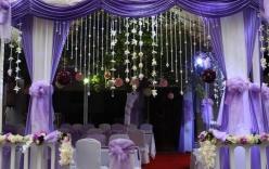 Khung cảnh cưới lung linh tại nhà riêng Tuấn Hưng
