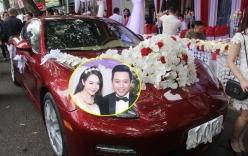 Cận cảnh những xế hộp rước dâu siêu đắt của sao Việt