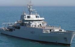"""Tàu HMS Echo đến vùng Trung Quốc bắt tín hiệu """"ping"""""""