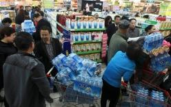 Trung Quốc: Nước máy gây chết người, dân đổ xô đi mua nước khoáng