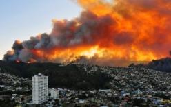 Chile: Cháy rừng khủng khiếp, 1000 ngôi nhà bị