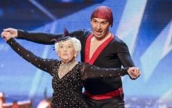 Cụ bà 79 tuổi nhảy salsa điêu luyện ở Britain's Got Talent