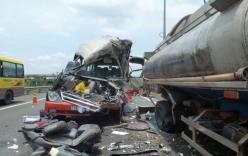 Tai nạn thảm khốc trên cao tốc Trung Lương: Lỗi thuộc về xe bồn?