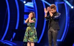 Minh Thùy khóc khi vượt qua Đông Hùng vào chung kết Idol