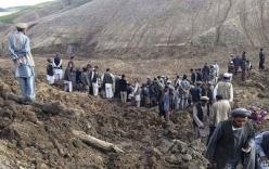 Núi sập ở Afghanistan khiến 350 người thiệt mạng