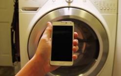 Video: Quay Samsung  Galaxy S5 trong máy giặt