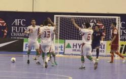 Việt Nam thảm bại trước đội bóng mạnh nhất châu Á