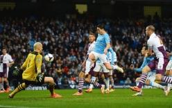 Man City 4–0 Aston Villa: Man xanh chạm tay vào chức vô địch