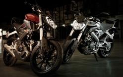 Yamaha ra mắt mẫu côn tay cỡ nhỏ mới