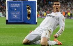 """Ronaldo được đề cử danh hiệu """"Bàn chân vàng"""""""