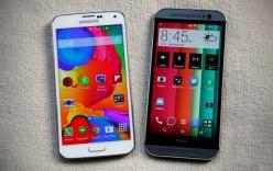 Giá Galaxy S5, HTC One M8 xách tay đang giảm mạnh