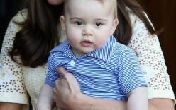 Hoàng tử George: Ưa la hét, ham tiếng ồn và thích ném đồ ăn