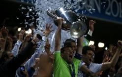"""Chùm ảnh: Cầu thủ Real """"điên cuồng"""" ăn mừng chức vô địch Champions League"""