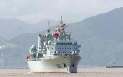 Quân đội TQ triển khai tàu tiếp tế lớn nhất tới Biển Đông