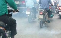 Xe máy sẽ phải kiểm soát khí thải
