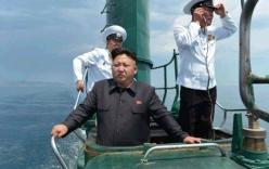 Kim Jong-un thị sát tàu ngầm rỉ sét do Trung Quốc sản xuất