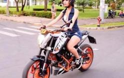 Phụ nữ và những lỗi sai khi dùng xe máy