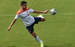 Nóng: Van Persie không thể ra sân trong trận tứ kết World Cup 2014?