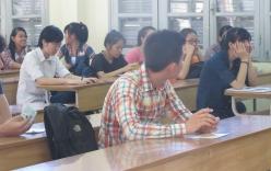 Gần 600.000 thí sinh đang làm bài thi đại học môn Toán
