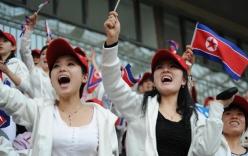 Triều Tiên gửi đội cổ động xinh đẹp tới Hàn Quốc