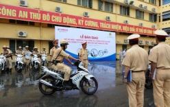 Yamaha Việt Nam trang bị xe mới cho lực lượng công an