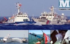 Trung Quốc đâm tàu Việt Nam, lấy vòi rồng kêu gọi hòa bình