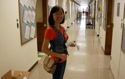 Nữ cử nhân nhỏ nhắn nhận học bổng Tiến sỹ ở Mỹ