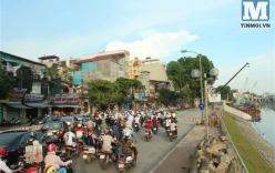 Chùm ảnh: Sập đường Láng, người dân bức xúc vì khắc phục chậm chạp
