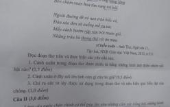 Đáp án đề thi Cao đẳng môn Ngữ Văn khối C, D năm 2014
