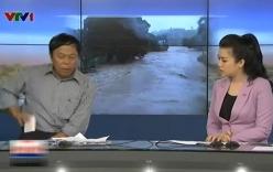 Phóng viên VTV ném điện thoại trong chương trình Chào buổi sáng