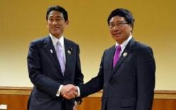 Ngoại trưởng Nhật sang Việt Nam tăng cường hợp tác an ninh hàng hải