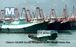 50.000 vũ khí bí mật của Trung Quốc tại Biển Đông