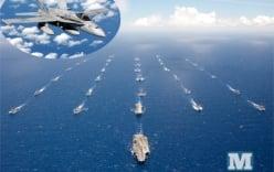 42 tàu chiến dàn hàng trong cuộc tập trận lớn nhất thế giới