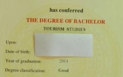 """Bằng tốt nghiệp lỗi chính tả: """"Chỉ là sai sót nhỏ"""""""
