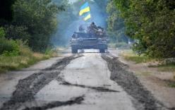 Ukraine tiêu diệt nhiều xe bọc thép Nga vượt biên giới