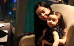 Ngắm con gái Phạm Quỳnh Anh giống mẹ như đúc