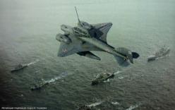 Tàu ngầm bay, vũ khí siêu độc của Hải quân Liên Xô được hé lộ