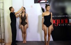 Vietnam's Next Top Model 2014 đột nhập hậu trường đo hình thể