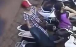 Clip nữ tặc đi xe tay ga cạy cốp trộm túi xách chỉ 3 giây