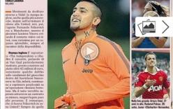 Vidal gia nhập M.U với giá 40 triệu bảng