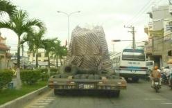 Xe khủng biến mất ở Khánh Hòa bị bắt lại tại Bình Thuận