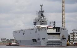 Pháp bất ngờ hoãn chuyển giao siêu chiến hạm Mistral cho Nga