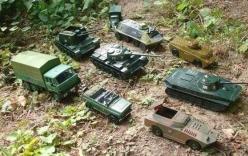 Nga đăng ảnh xe tăng đồ chơi chế giễu cáo buộc của NATO
