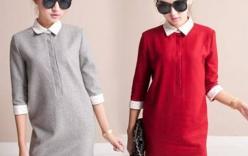 Mốt váy thu đông 2014 cho phái đẹp
