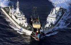 TQ rầm rộ điều hàng trăm tàu cá xâm nhập vùng biển đảo Senkaku/ Điếu Ngư