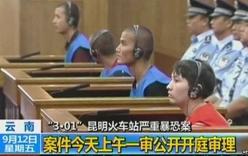 Trung Quốc tử hình 3 đối tượng khủng bố ở nhà ga Côn Minh