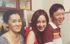 Angela Phương Trinh hạnh phúc bên gia đình sau thời gian