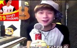 Vanh Leg tung clip ca ngợi U19 Việt Nam thu hút hơn 4 nghìn lượt like